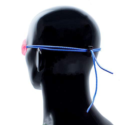 Kraftex Goggle Straps (Blue)