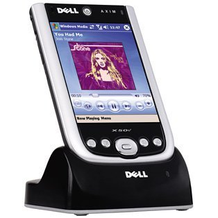 Dell Axim X50v - Handheld - Windows Mobile 2003 SE - 3.7'' color TFT ( 480 x 640 ) - Bluetooth, Wi-Fi by Dell
