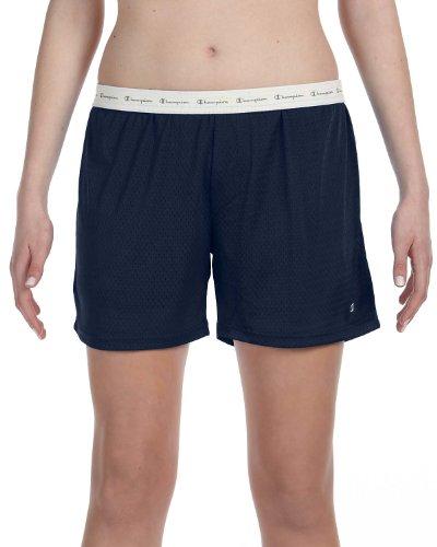 Women's Active 5' Mesh Short,Navy,Medium