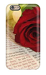 LastMemory Case For Iphone 6 With Nice Bible Roses Appearance