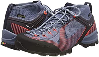 e475d058ec351 Salewa Alpenviolet GTX Hiking Shoe - Women's Blue Fog/Fluo Coral ...