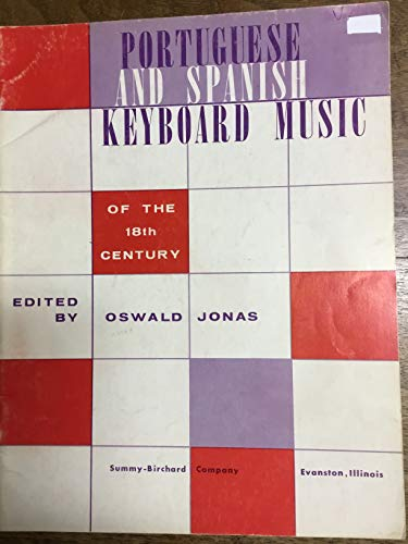 (Portuguese and Spanish Keyboard Music of the 18th Century)