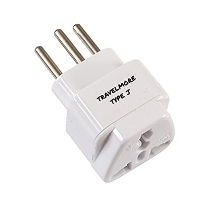 European Travel Adapter Plug Set – Pack of 4 Universal USA to Europe Outlet Adapters for All of Europe (Type C, E, F, G J, L) - Works in France, UK, Switzerland, Spain, Italy, Germany & More: Home Audio & Theater
