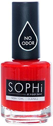 SOPHi Red Bottom Stilettos Nail Polish, 0.5 oz. (Red Non Toxic Nail Polish compare prices)