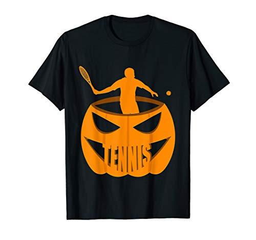 Tennis Pumpkin Costume T-Shirt October 31st
