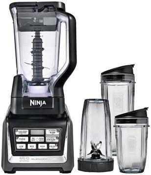 Ninja BL642REF Nutri Blender Duo with Auto-iQ Silver