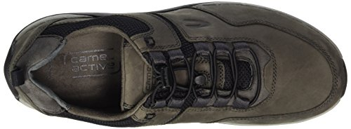 Camel Active Moonlight 13, Sneakers Basses Homme Gris (Dk.grey/Black)