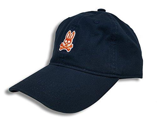 Psycho Bunny Men's Sunbleached Cap Navy One Size