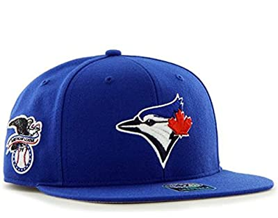 47 Brand Toronto Blue Jays Sure Shot Mens Snapback Hat B-SRS26WBP-RY