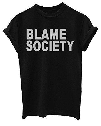 Blame Society Funny Mens T-Shirt [Apparel] (Society Clothing)