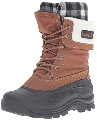 Kamik Womens Sugarloaf Snow Boot  Tan  8 M Us