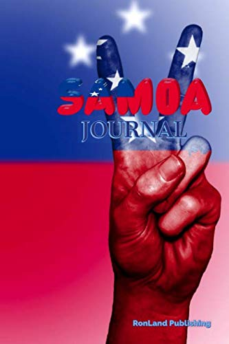 Journal: Samoa 100 page lined ruled notebook...