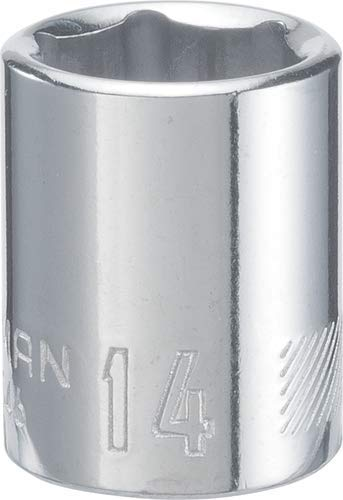 CRAFTSMAN Shallow Socket, Metric, 3/8-Inch Drive, 14mm, 6-Point (CMMT43546)