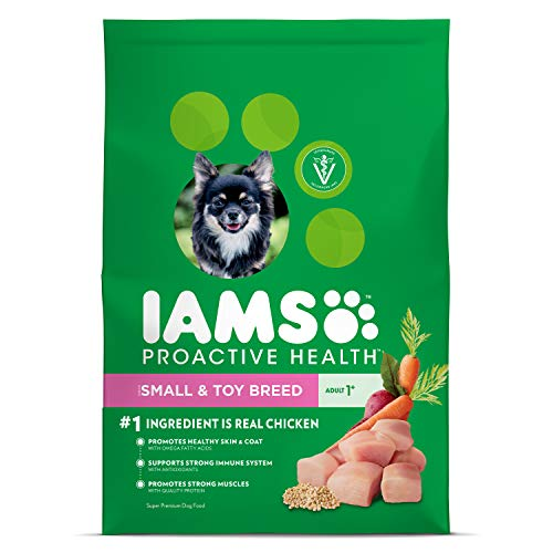 Iams Proactive Health Small & Toy Breed Adult Dry Dog Food...