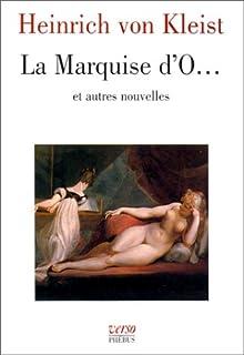 La marquise d'O ... : nouvelles, Kleist, Heinrich von
