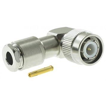 RF Coaxial TNC, ángulo derecho, Plug, 50ohm r143156000 by ...