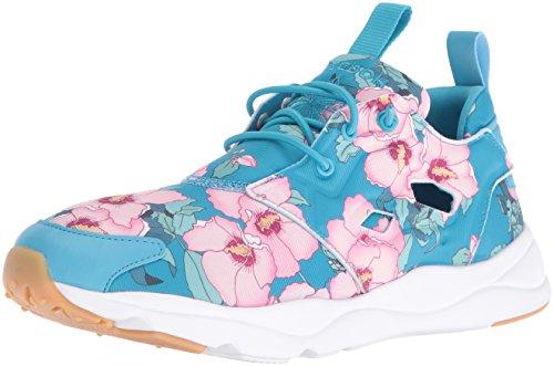 Reebok Vrouwen Furylite Fg Mode Sneaker Bloemen / Vlucht Blauw / Rebel