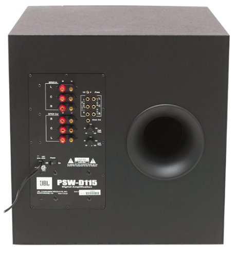 Amazon.com: JBL PSW-D115 350-Watt Powered Subwoofer (Discontinued by Manufacturer): Home Audio & Theater