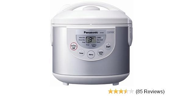 amazon com panasonic sr tmb10 5 1 2 cup rice cooker warmer silver rh uedata amazon com Panasonic Remote Control Manual Panasonic Rice Cooker Cup 3