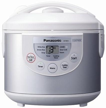 amazon com panasonic sr tmb10 5 1 2 cup rice cooker warmer silver rh uedata amazon com Panasonic Electric Rice Cooker Manual for Panasonic Microwave