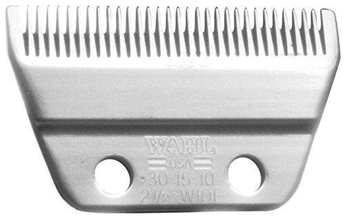 Adjustable Blade Set - Wahl Professional Animal #30-15-10 Standard Wide Adjustable Blade Set for Wahl's Pro Ion, Iron Horse, Show Pro Plus, U-Clip, and Deluxe U-Clip Pet, Dog, and Horse Clippers (#1037-600)