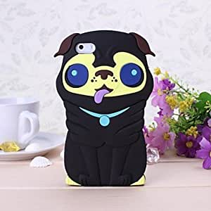 LIMME Lovely Dog Pattern Silicone Soft Case for iPhone 5/5S (Assorted Colors)