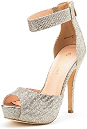 Amazon.com: Gold - Pumps / Shoes: Clothing Shoes &amp Jewelry