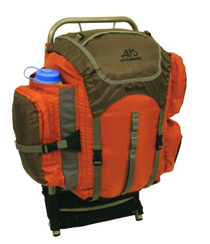ALPS Mountaineering Red Rock 2050 Cubic Inches External Pack (Rust), Outdoor Stuffs