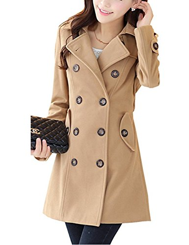 Womens Winter Double Breasted Trench product image