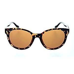 Optic Nerve Kindred Polarized Trend Sunglasses - Shiny Driftwood Demi Frame with Polarized Brown Lens