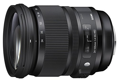Sigma 24-105mm F4.0 Art DG OS HSM Lens for Sony (Renewed) (24 105mm F4 Dg Os Hsm Art)