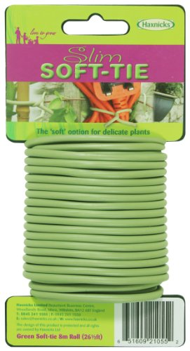 Tierra Garden 50-3010 Haxnicks Slim Soft Tie, 26.3-Feet, Green