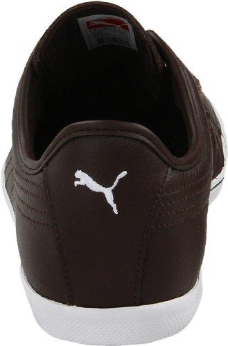Puma Mens Benecio Lace-up Mode Sneaker Chocoladebruin