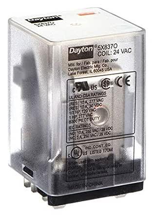 NEW NO BOX * DAYTON 5X853F RELAY SOCKET