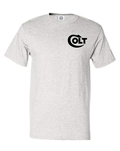 COLT Pistol Gun T-Shirt Tee 2nd Amendment Gun Rights Hunt (2XL, ()