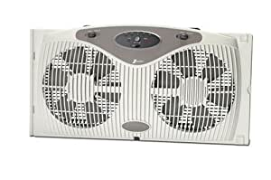 Amazon Com Holmes Twin Window Fan W Remote And One Touch