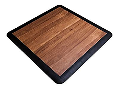 SnapLock Dark Maple 15' X 15' Portable Dance and Event Floor
