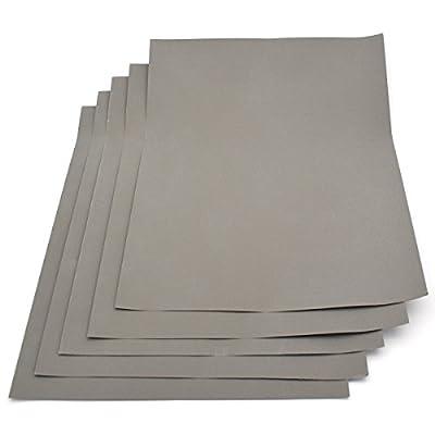 Pack of 5 High Precision Polishing Sanding Wet/dry Abrasive Sandpaper Sheets -Grit 3000 Germany