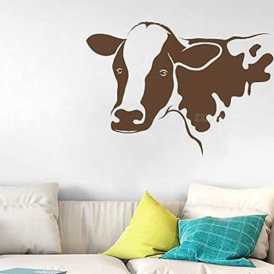 JXND Animal de Granja Cabeza de Toro calcomanía Agricultura ...