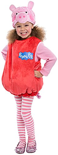 Peppa Pig Bubble Dress Costume, 3-4T]()
