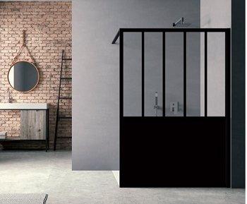 Paroi De Douche Loft Steel 140 Cm Jacuzzi Amazonfr Bricolage