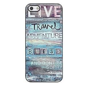 LCJ Live Travel Design Aluminium Hard Case for iPhone 4/4S