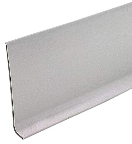 (Wall Base Molding, Gray, 48 In. L)