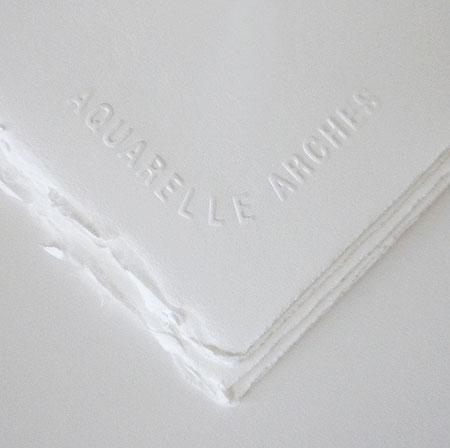 Arches 140 lb Hot Press Bright White 22 x 30 Inch- pack of 5 - Press Lb 140 Hot