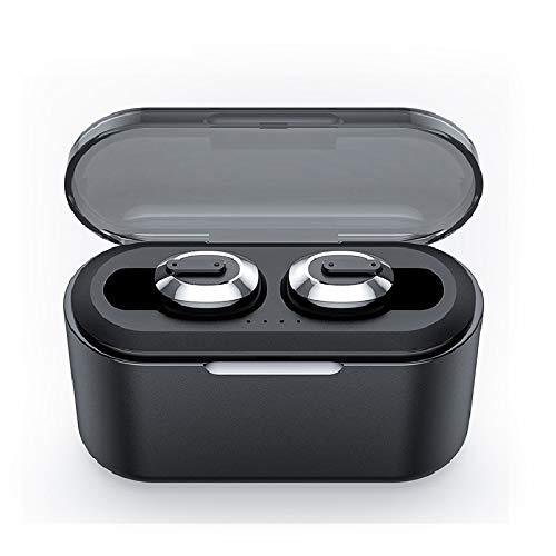 Alician Bluetooth Earphone Sports Wireless Mini HiFi Handsfree Headphone Stereo Sound Earbuds Gaming Headset with Charging Box
