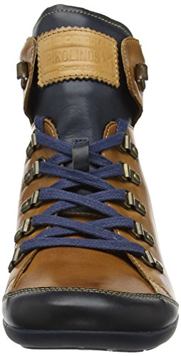 brandy Marrone i17 W67 Sneaker Donna Lisboa Alto Pikolinos Collo A 8zTqwfBp