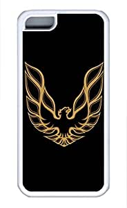 iphone 4s Case, iphone 4s Cases - Protective Soft-Interior Scratch Protection Case for iphone 4s Firebird Car Logo 2 Soft Flexible Extremely Thin White Case for iphone 4s