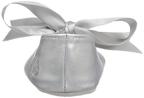 Ralph Lauren Layette Briley Ballet (Infant/Toddler), Silver/Metallic, 3 M US Infant - Image 2