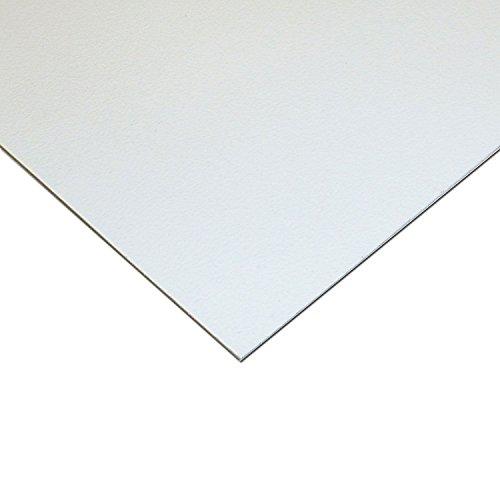"Online Plastic Supply High Impact Polystyrene Plastic Sheet .030"" x 48"" x 96"" - White (Hips)"