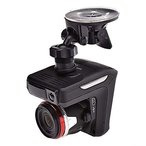 2.4 pulgadas 720p Lector de tráfico de lente gran angular de 120 grados X7 Radar Laser - negro: Amazon.es: Amazon.es